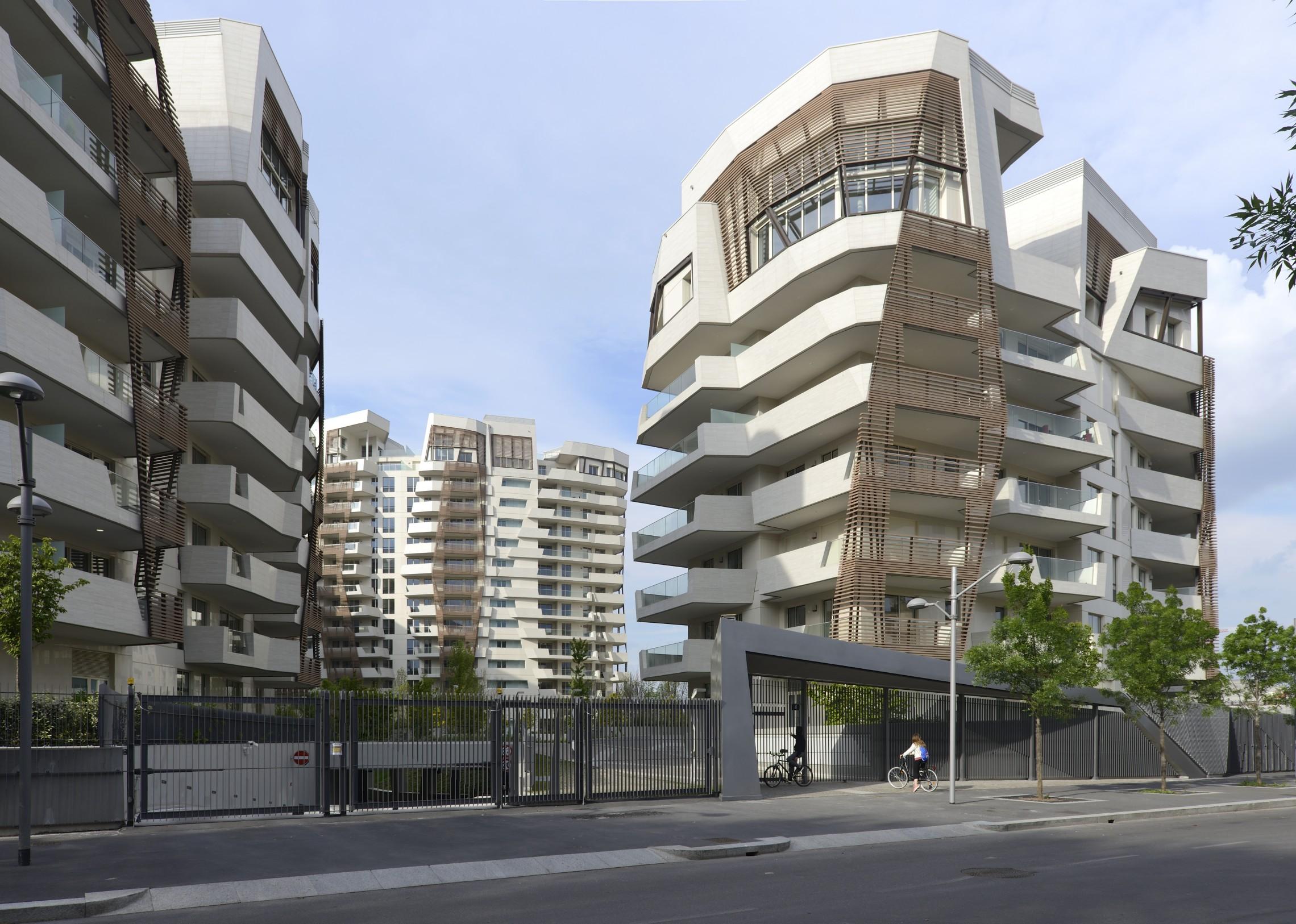 citylife residences libeskind