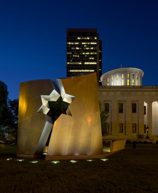 Ohio Statehouse Holocaust Memorial Libeskind