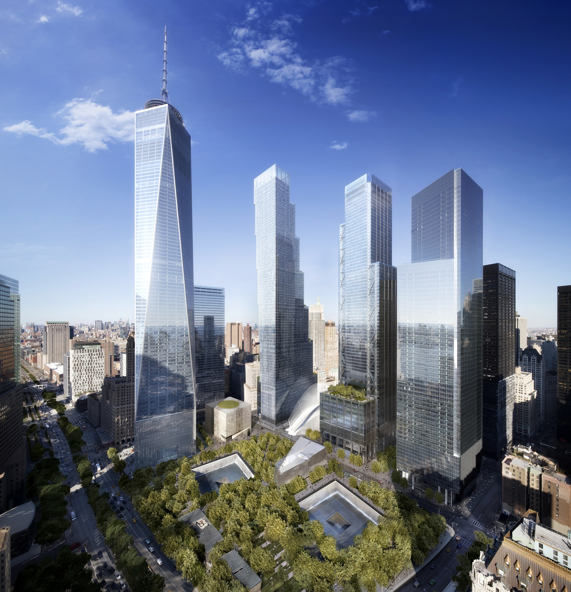 World Trade Center Master Plan Libeskind