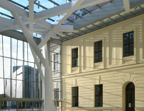 Glass Courtyard, Jewish Museum Berlin