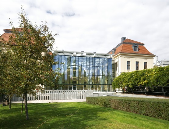 Glass Courtyard, Jewish Museum Berlin