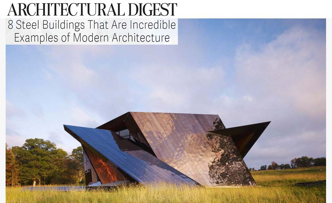 Modern Architecture Examples architectural digest: 8 steel buildings that are incredible