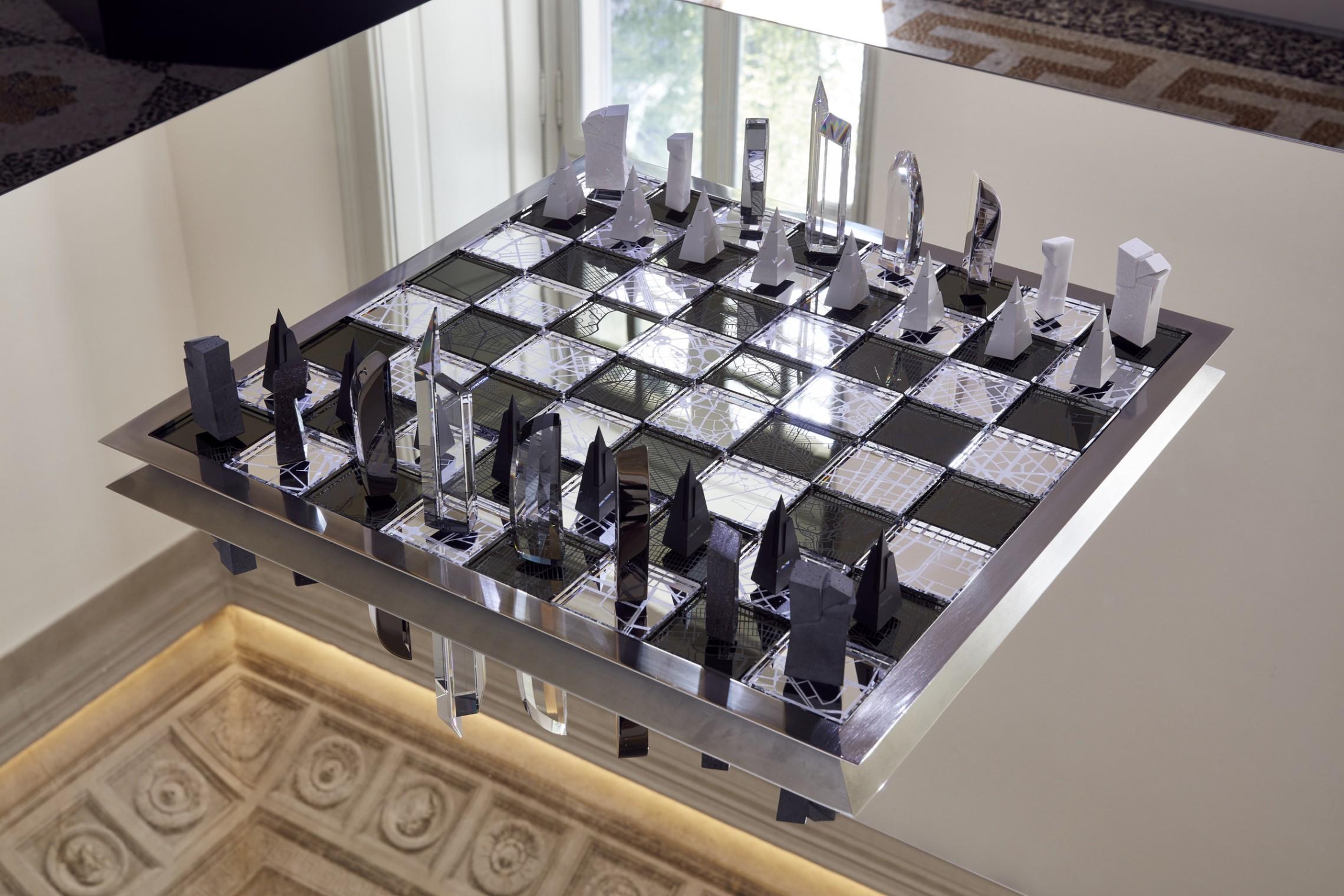 Swarovski Chess Set Libeskind