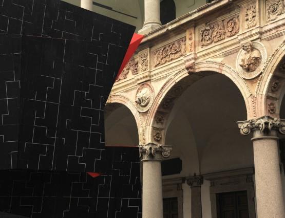 Beyond the Wall – Interni Installation