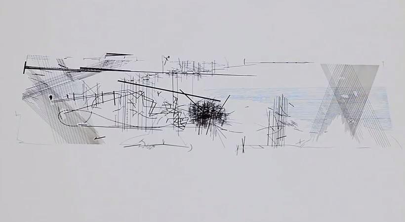 Daniel Libeskind On Drawing Libeskind