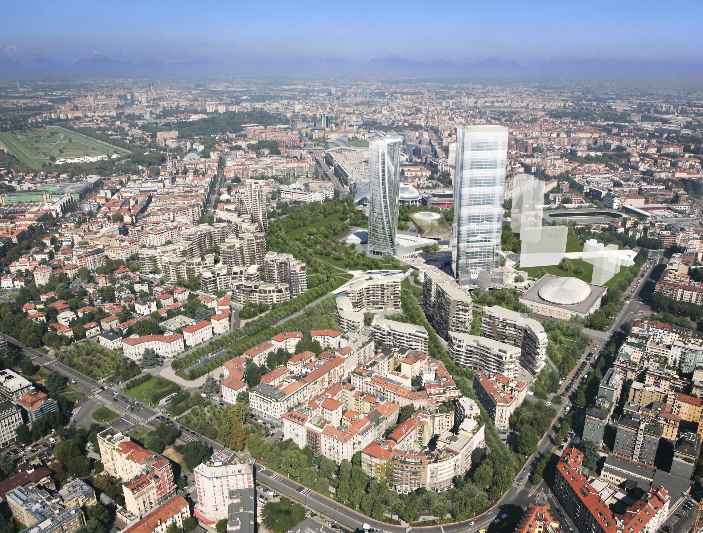 Citylife masterplan libeskind for Design city milano