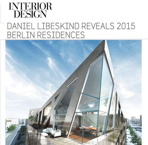 Interior Design Magazine: Libeskind returns to Berlin, December 2013 ...
