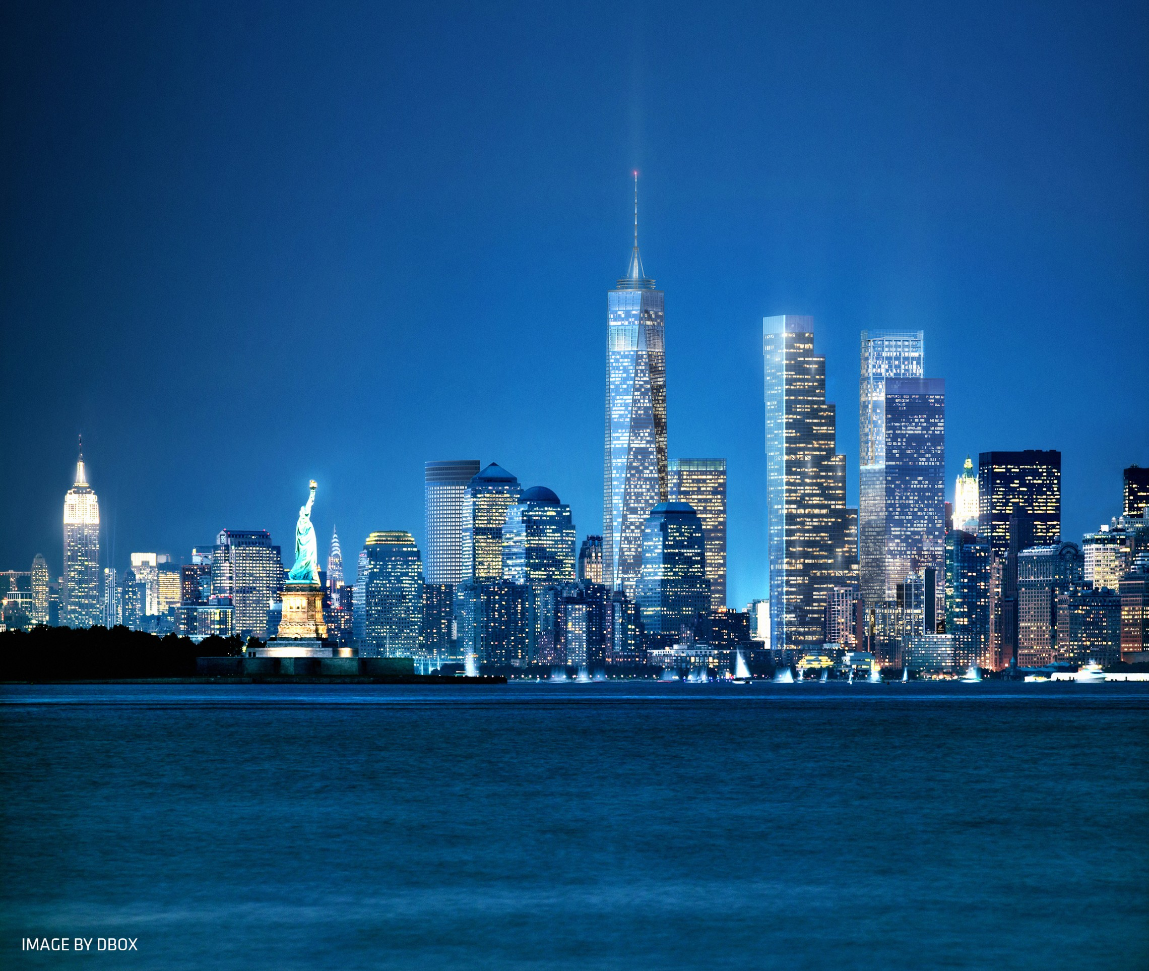 Manhattan New: World Trade Center Master Plan