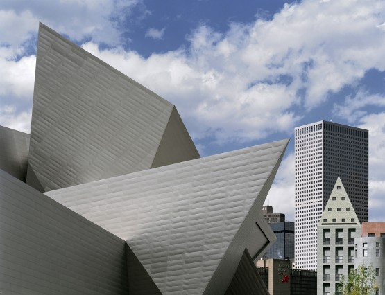 Daniel libeskind denver art museum cnn documentary libeskind for Daniel libeskind architectural style
