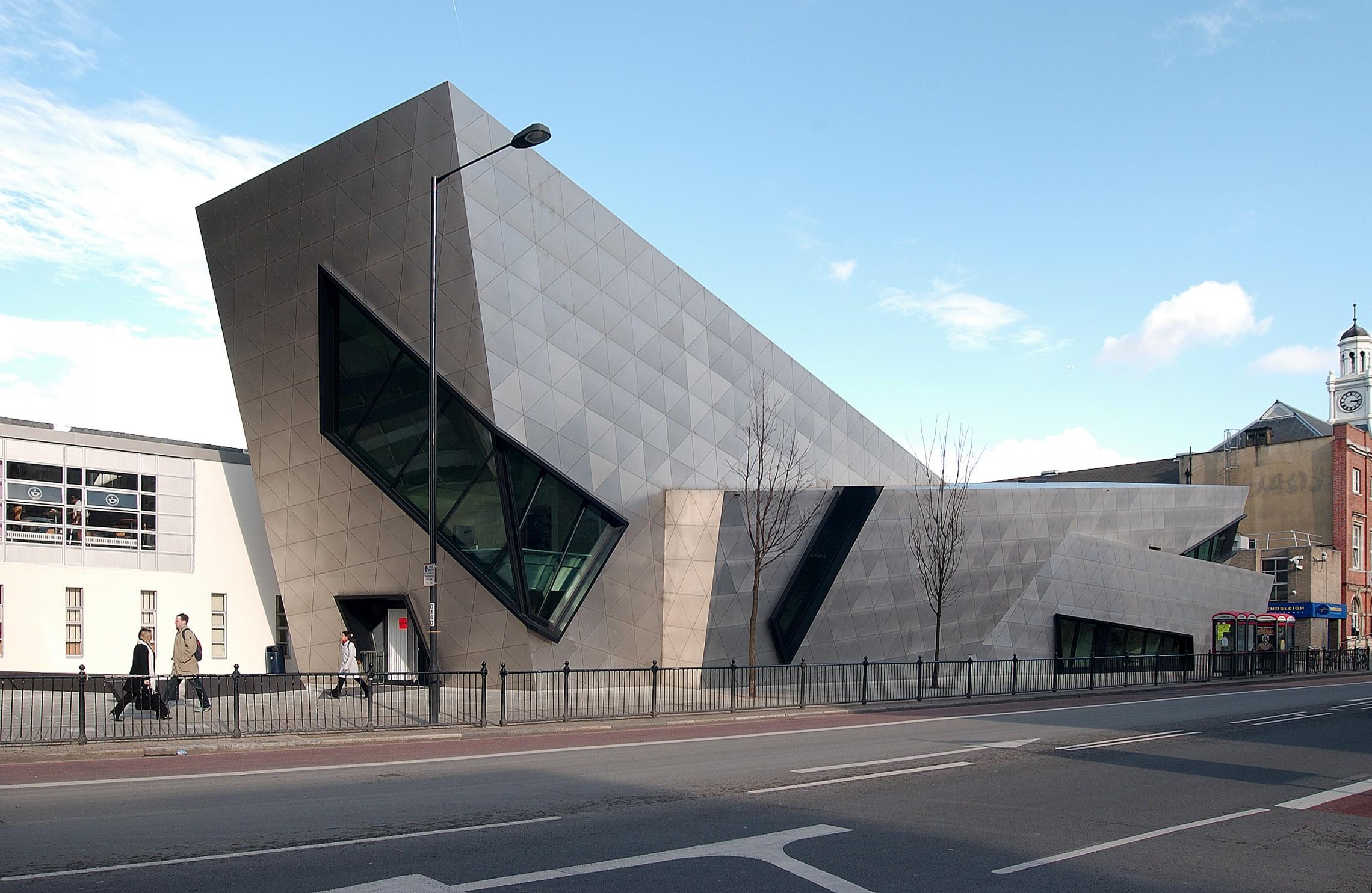 Strange London Metropolitan University Graduate Centre Libeskind Download Free Architecture Designs Scobabritishbridgeorg