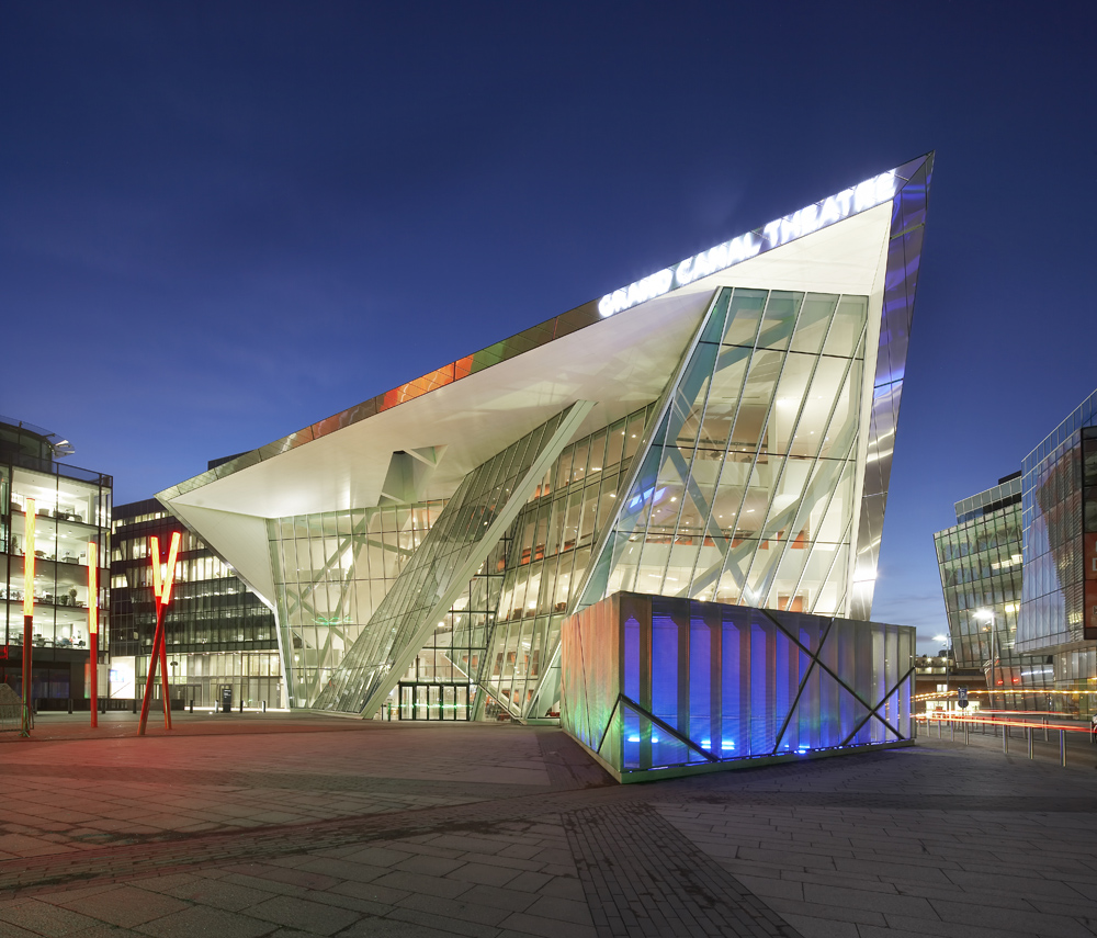 Bord g is energy theatre and grand canal commercial for Daniel libeskind architectural style