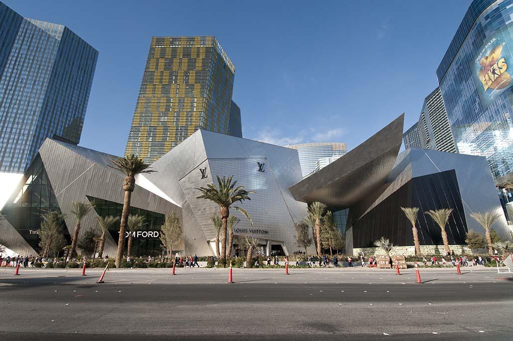 city center las vegas shopping mall