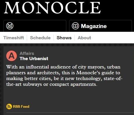 Monocle The Urbanist 2