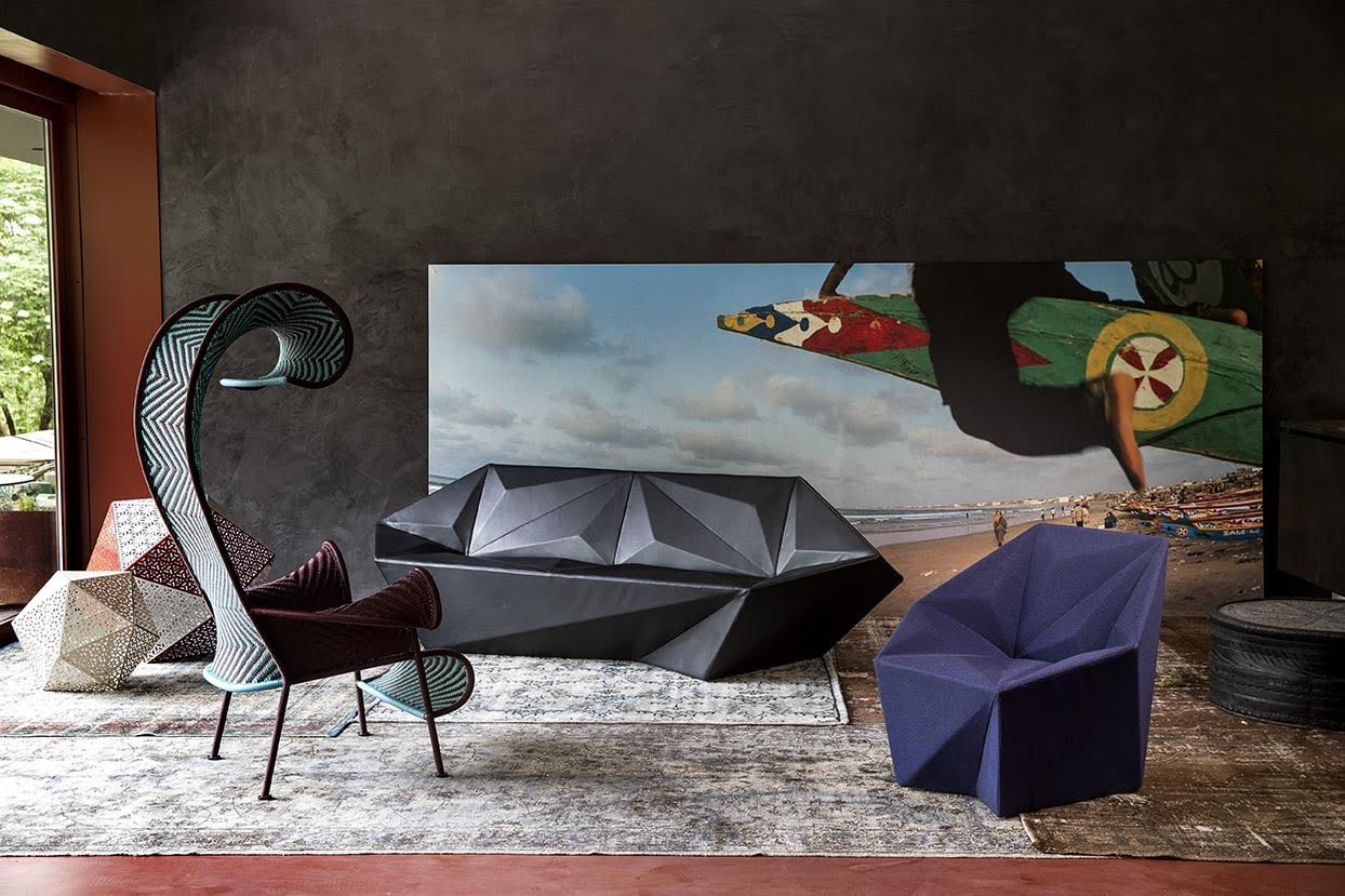 Gemma Chair For Moroso Libeskind