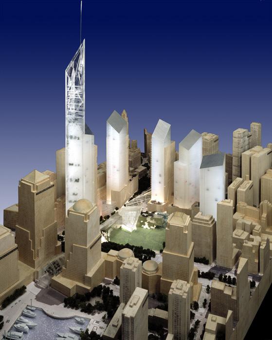 World trade center master plan libeskind - Architecture shows ...