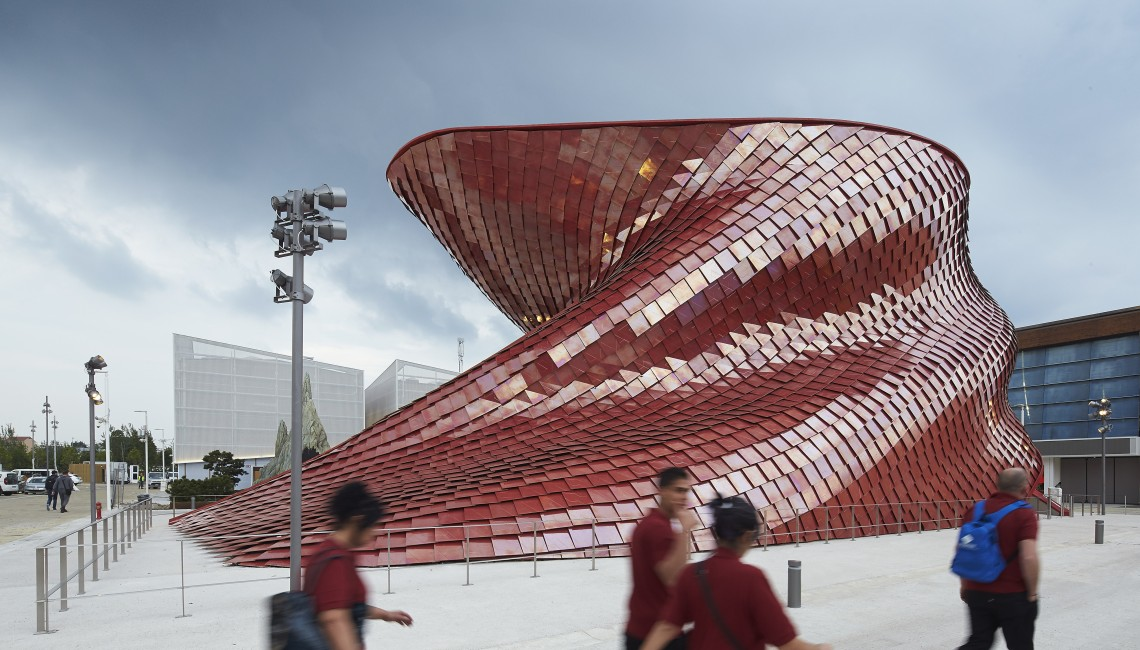 Vanke Pavilion Expo 2015 Libeskind