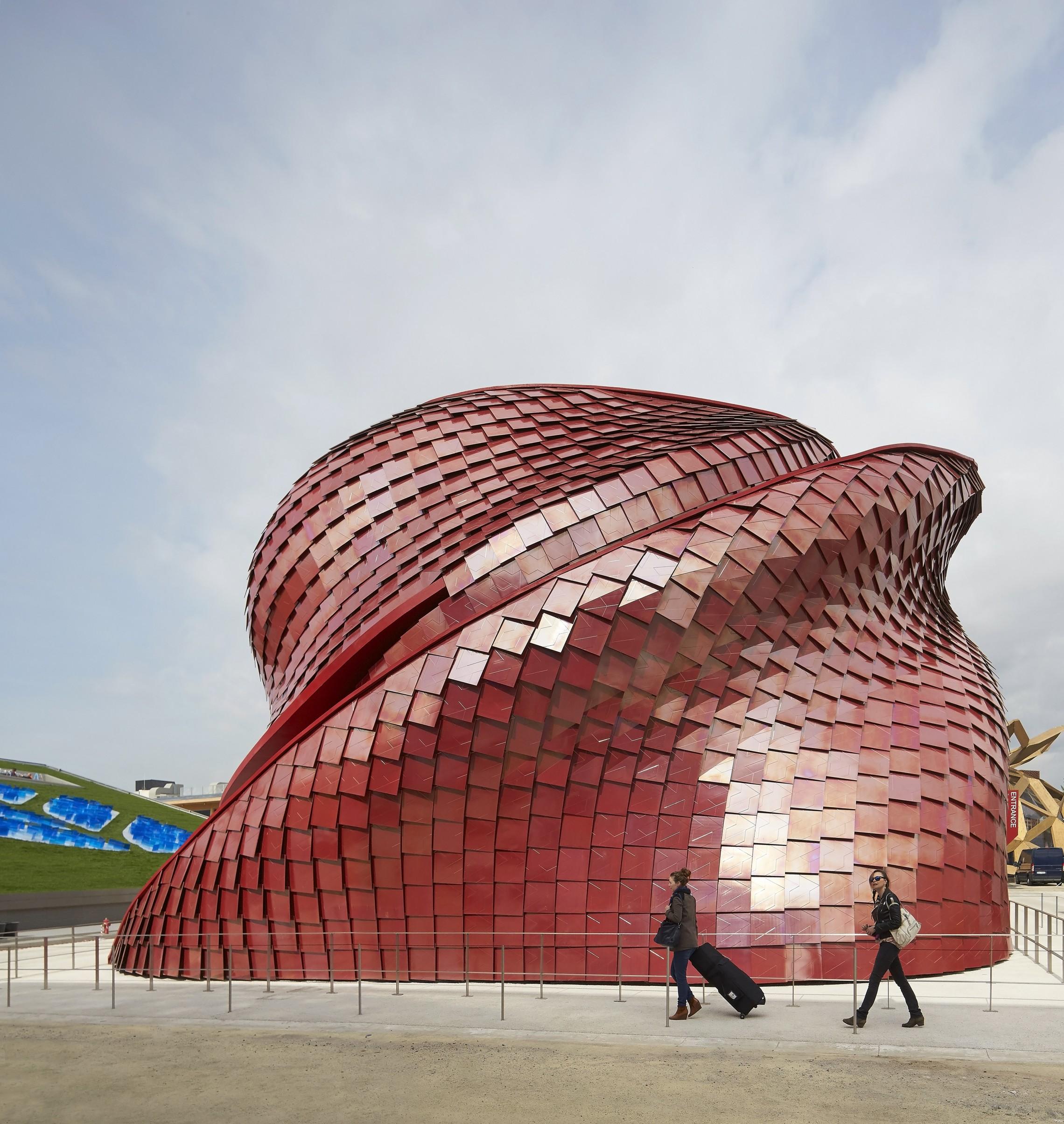 Vanke pavilion expo 2015 libeskind for Pavilion concept architecture