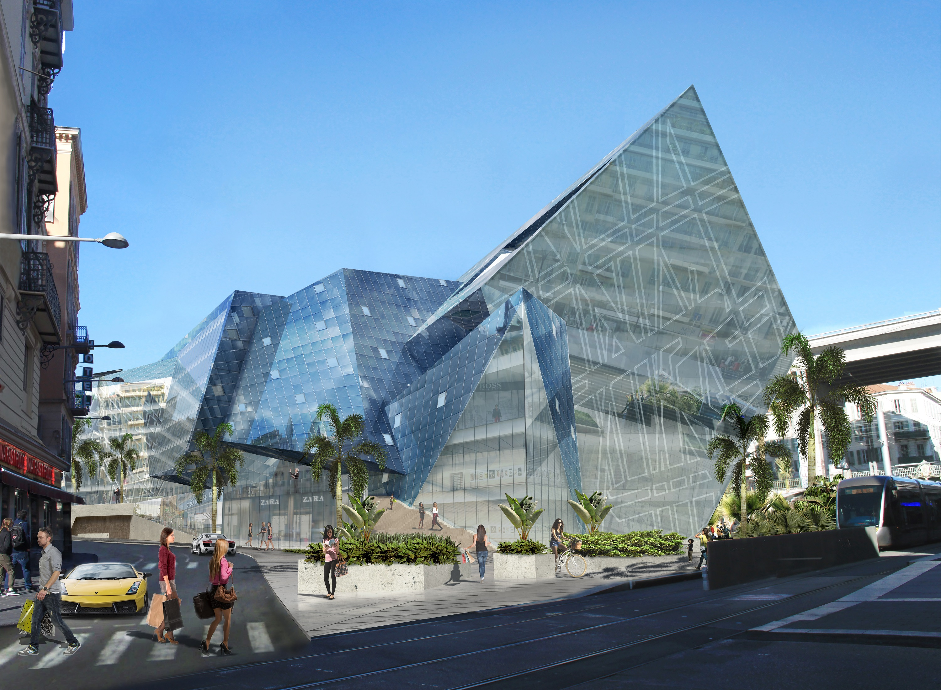 east thiers station libeskind