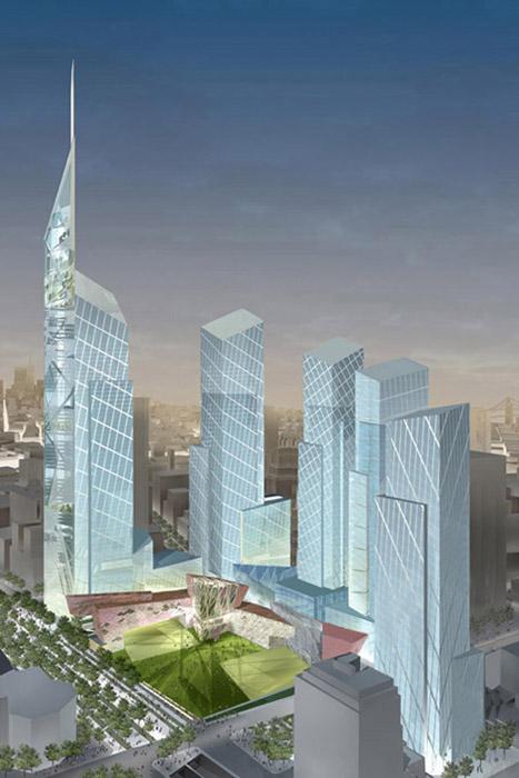 I Need A Car >> World Trade Center Master Plan - Libeskind