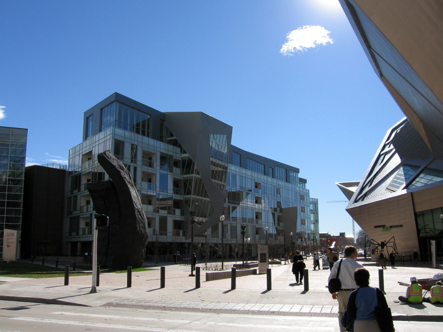 Denver Art Museum Residences Libeskind
