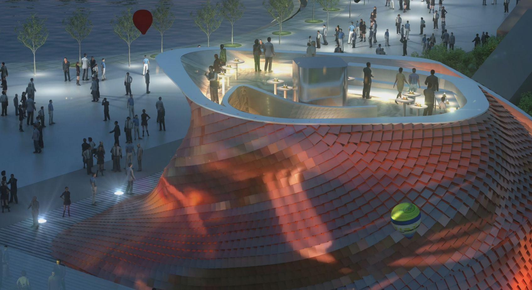 Video Inside The Vanke Pavilion 2015 Expo Milan Libeskind